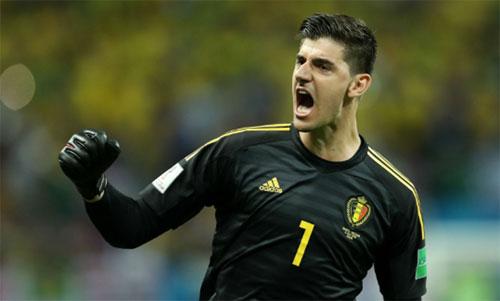 Courtois đã tái khẳng định tài năng của một thủ môn hàng đầu. Ảnh: Reuters