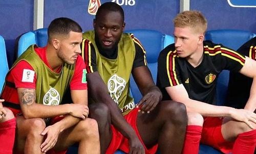 Bộ ba tấn công của tuyển Bỉ đã có một trận đấu xuất sắc trước Brazil. Ảnh: Reuters.