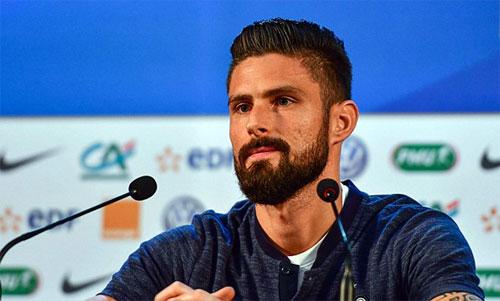 Giroud muốn chứng minh Henry sai khi chọn Bỉ cũng như việc từng chê anh.