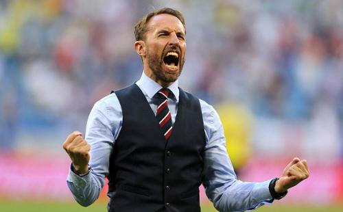 HLV Southgate và tuyển Anh cho thấy sức mạnh về chất lượng cầu thủ cũng như tinh thần. Ảnh:PA.