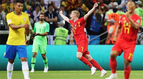Bỉ không được kỳ vọng nhiều, nên không chịu sức ép khi đến với World Cup.