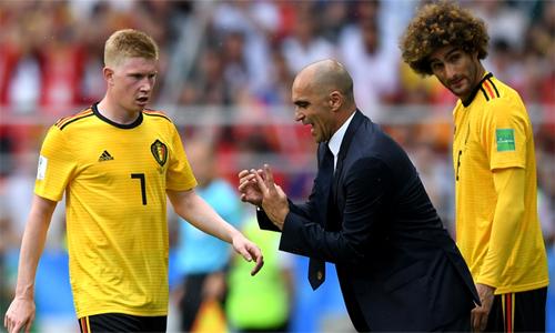 Martinez xem khả năng thích nghi với hoàn cảnh là phẩm chất tuyệt vời hơn cả của các cầu thủ Bỉ.