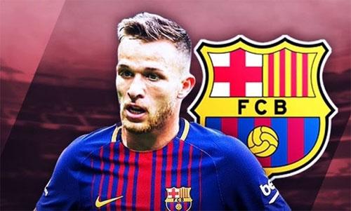 Arthur sẽ có cơ hội chứng minh tài năng trong mùa giải tới tại Barca.