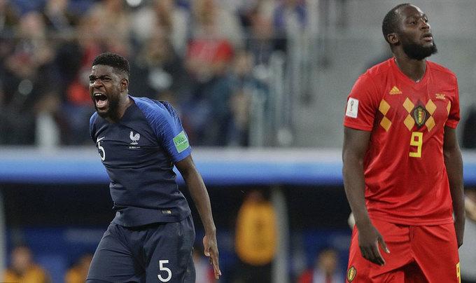 Lukaku im tiếng khi Bỉ vỡ mộng vào chung kết World Cup 2018