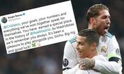 Cầu thủ Real tri ân Cristiano Ronaldo
