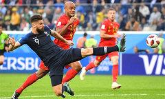'Chân gỗ' Giroud dính kỷ lục buồn ở World Cup