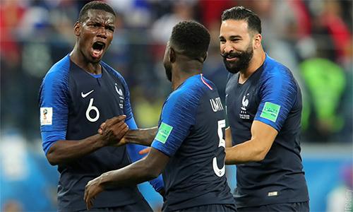 Pogba và các đồng đội đang đứng trước cơ hội lớn để trở thành nhà vô địch thế giới.