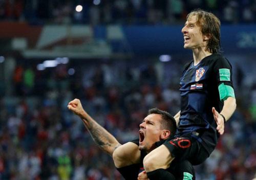 Modric sắm vai nhạc trưởng,dẫn dắt Croatia tới chiến tích lịch sử.