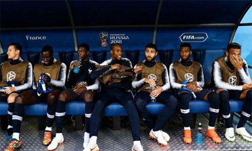 Dàn cầu thủ dự bị của Pháp đủ khả năng đá chính ở nhiều đội tuyển khác. Ảnh: Reuters