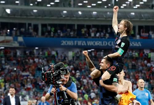 Modric là nhạc trưởng trong hành trình kỳ diệu của Croatia tại World Cup 2018.