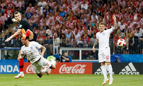 Bàn thắng này của Perisic vào lưới tuyển Anh góp phần mở toang cánh cửa, đưa Croatia đến chung kết World Cup.