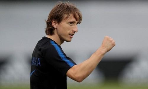 Modric có cơ hội làm nên lịch sử cùng tuyển Croatia. Ảnh: Reuters.