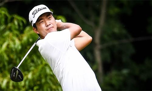 Nỗ lực của Kim tạiJohn Deere Classic được đền đáp xứng đáng với chức vô địch và kỷ lục về số gậy. Ảnh: PGA Tour.