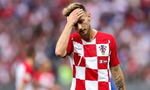 Rakitic cho rằng kém may mắn là lý do lớn nhất khiến Croatia của anh chiến bại ở chung kết World Cup.