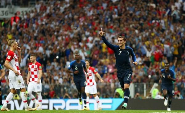 Griezmann tiếp tục để lại dấu ấn quan trọng trong chiến thắng của Pháp. Ảnh: FIFA.