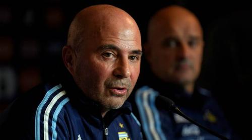 HLV Sampaoli từng được xem là mảnh ghép lý tưởng cho Argentina. Ảnh:FIFA.