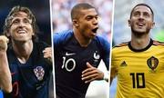 Pháp và Croatia thống trị đội hình tiêu biểu World Cup 2018