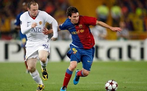 Rooney đánh giá Messi là cầu thủ hay nhất lịch sử. Ảnh: Reuters.