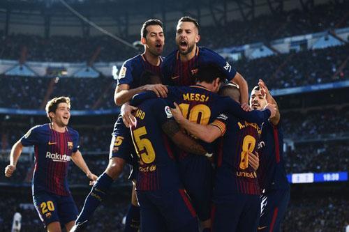 Barca là một trong những đội bóng kiếm tiền xuất sắc của thế giới.