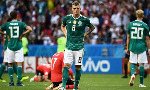 Đức bị loại ngay từ vòng bảng là bất ngờ lớn của World Cup 2018.