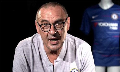 Sarri vừa chấm dứt 13 năm làm việc tại Italy để đến với Chelsea. Ảnh: ChelseaTV