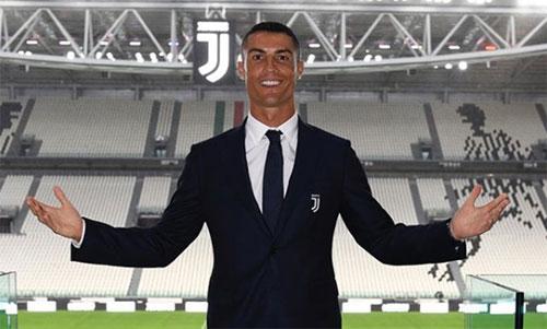 Ảnh đăng trên tài khoản mạng xã hội của Ronaldo.