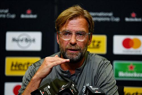 Jurgen Klopp tự tin trước mùa giải mới. Ảnh: Reuters.