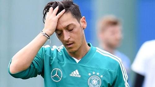 Ozil quyết định chia tay đội tuyển Đức sau 92 lần khoác áo. Ảnh: Reuters.