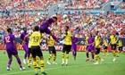 Liverpool thua trận đầu tiên trong chuyến du đấu tại Mỹ