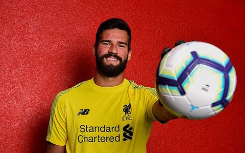 Alisson cập bến Liverpool với giá 88 triệu đôla. Ảnh: PA.