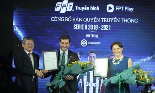 Truyền hình FPT sở hữu bản quyền giải Serie A và FA Cup