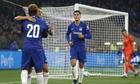 Chelsea thắng trận đầu dưới thời tân HLV Sarri
