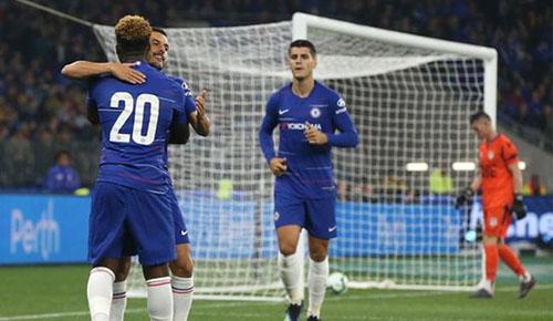 Chelsea khởi đầu thuận lợi dưới thời HLV Sarri. Ảnh: Reuters.
