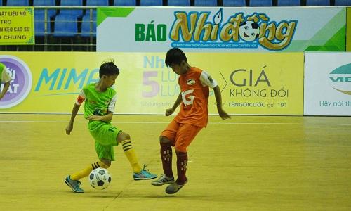 Giải nhi đồng toàn quốc là sân chơi bóng đá thường niên cho lứa tuổi U11. Ảnh: Báo Nhi Đồng.