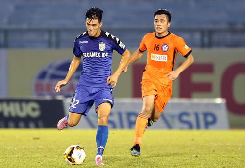 CLB Hà Nội xác định Tiến Linh là mũi nhọn nguy hiểm nhất bên phía Bình Dương. Cầu thủ này từng ghi 4 bàn trong trận đấu với Đà Nẵng.
