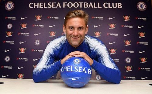 Chelsea là đội bóng thứ năm Green khoác áo. Ảnh: PA.