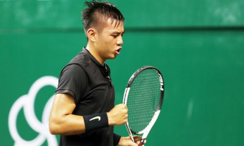 Những tay vợt không có hạng ATP cao như Lý Hoàng Nam sẽ có thêm cơ hội dự giải Challenger. Ảnh: Đức Đồng.