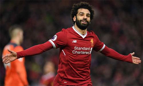 Salah một lần nữa khiến Man City chịu thất bại. Ảnh: Reuters