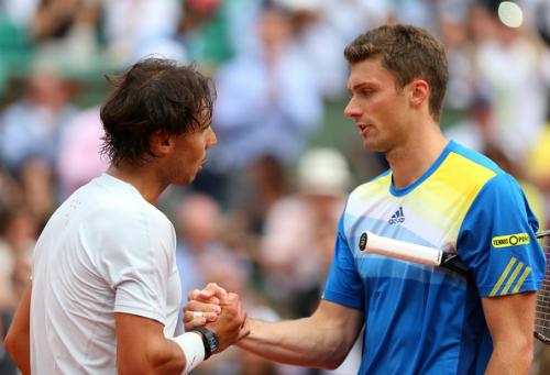 Brands cũng từng khiến Nadal gặp khó khăn ở Roland Garros. Ảnh: Zimbio.