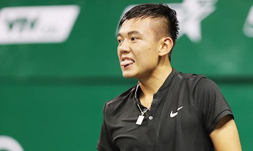 Hoàng Nam lần đầu vào vòng hai ATP Challenger ngoài Việt Nam. Ảnh: Đức Đồng.