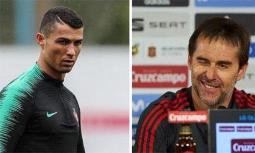 Lopetegui không đủđể giữ Ronaldo ở lại Real.