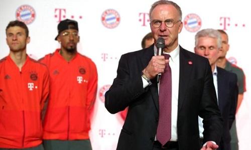 Rummenigge khẳng định Bayern sẽ không làm điều như Juventus đã làm trong thương vụ Ronaldo. Ảnh: Reuters.