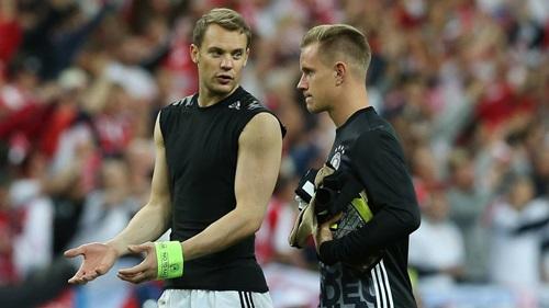 Ter Stegen không được bắt chính ở World Cup 2018 trong khung thành của tuyển Đức. Ảnh: Reuters.