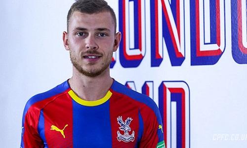 Meyer bất ngờ đồng ý đầu quân cho Palace. Ảnh: Crystal Palace.