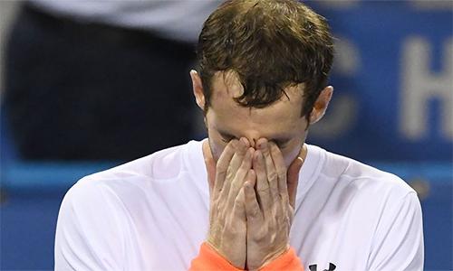Murray không dám mạo hiểm với thể trạng của bản thân. Ảnh: Sky Sports.