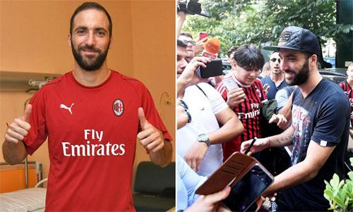 Higuain buộc phải rời Juventus sau hai năm thi đấu với phong độ cao.
