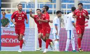 Uzbekistan thua Palestine ở giải U23 quốc tế