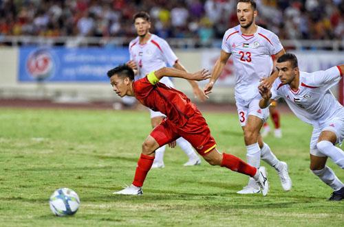 HLV Park Hang-seo coi giải giao hữu U23 quốc tế là nơi thử nghiệm nhân sự và chiến thuật. Ảnh: Giang Huy