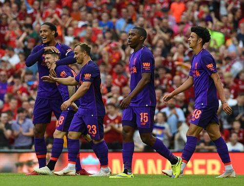 Liverpool đã chơi tốt trong quãng thời gian chuẩn bị trước mùa giải. Ảnh: AP.