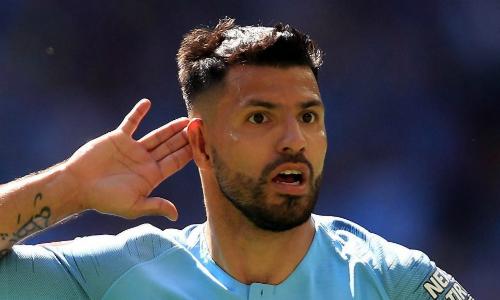 Aguero đứng thứ 12 trong danh sách chân sút ghi nhiều bàn nhất lịch sử Ngoại hạng Anh với 143 bàn thắng. Anh chỉ kém vị trí thứ 10 của Teddy Sheringham ba bàn. Ảnh: TS.